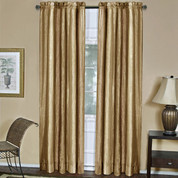 Ombre Rod Pocket Curtain Panel - Sand