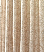 Santorini Rod Pocket Curtain - Sand