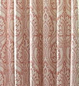 Santorini Rod Pocket Curtain - Coral