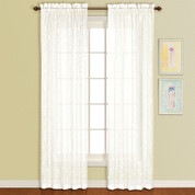 Savannah Rod Pocket Curtain Panel - Oyster