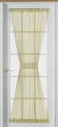 Emelia Sheer Voile Door Panel - Ecru - Available in 6 lengths