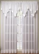 Silhouette Rod Pocket Curtain Panel