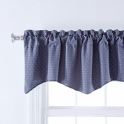 Thompson Scalloped Valance - Harbor