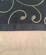 Westgate Rod Pocket Curtain Panel - Black