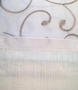Westgate Rod Pocket Curtain Panel - Ivory