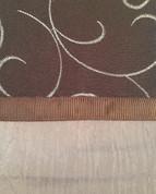 Westgate Rod Pocket Curtain Panel - Chocolate
