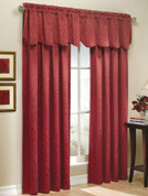 Whitfield Rod Pocket Curtain Panel - Available in Sage, Chocolate, Blue, Latte, Wine, White, Navy