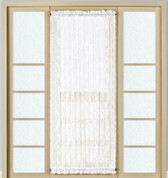 Windsor Lace Door Panel - White - Available in 2 lengths