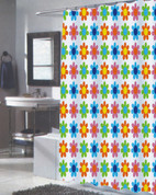 Abbie Extra Long Shower Curtain