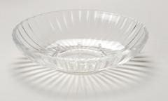Acrylic Ribbed Soap Dish - Clear
