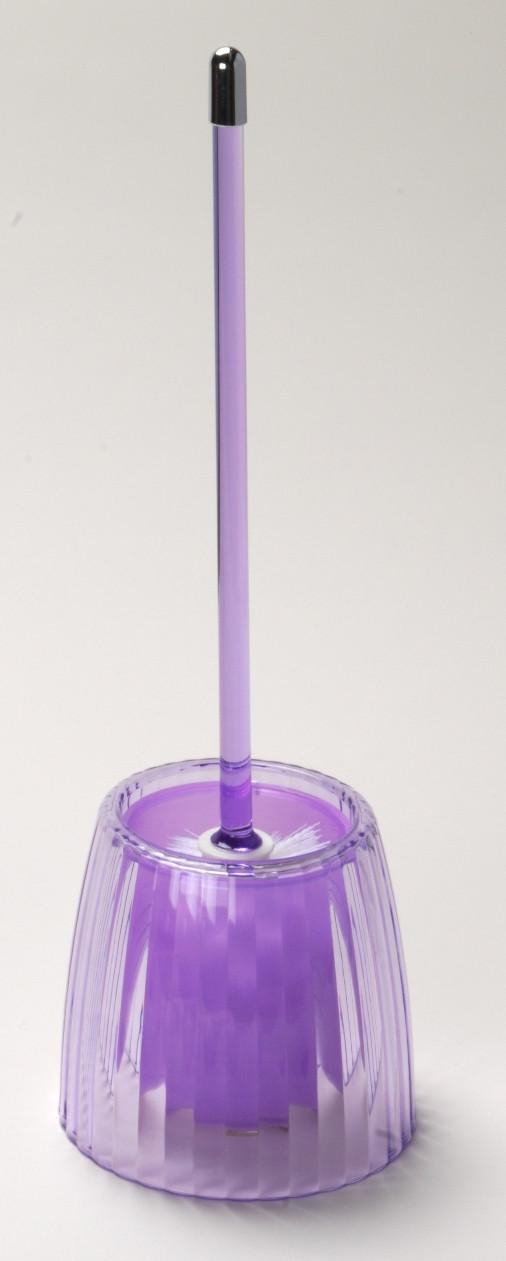 Acrylic Ribbed Bowl Brush Magenta Linens4less Com