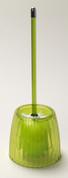 Acrylic Ribbed Bowl Brush - Palm Green