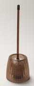 Acrylic Ribbed Bowl Brush - Brown