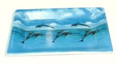 Dolphins - Ceramic Soap Dish