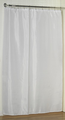 Extra Long Fabric Shower Curtain Liner 84 Long