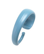 Hang Ease Plastic Shower Hooks (set of 12) - Blue