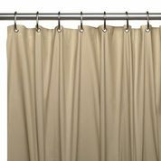 Hotel Quality Vinyl Shower Curtain Liner - Linen
