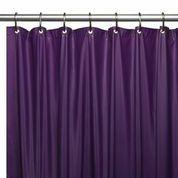 Hotel Quality Vinyl Shower Curtain Liner - Purple