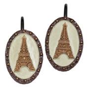 I Love Paris - Shower Curtain Hooks - set of 12