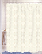 Jacquard Shower Curtain - Ivory