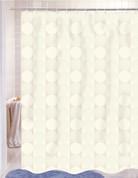 Jacquard Shower Curtain - Ivory