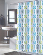Olivia Extra Long Shower Curtain