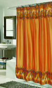 Panthera Tiger Faux Fur Shower Curtain