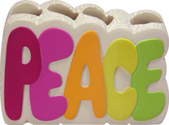 Peace Out - Toothbrush Holder