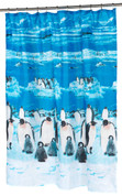 Polar Fabric Shower Curtain