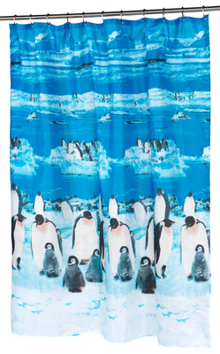 Polar Fabric Shower Curtain