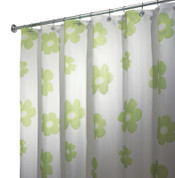 Poppy Shower Curtain - Green