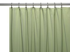 Premium VINYL Shower Curtain Liner - Sage