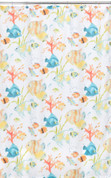 Rainbow Fish - Fabric Shower Curtain