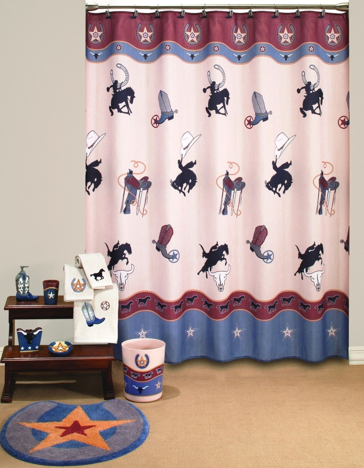 Exceptionnel Share? Image 1. Rodeo   Shower Curtain ...