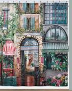 Rue di Rivoli - Fabric Shower Curtain