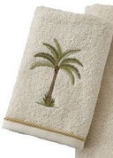 West Palm Trees from Saturday Knight Hand Towel