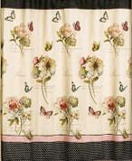Marche Aux Fleurs - Fabric Shower Curtain
