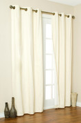 Weathermate Thermologic Grommet Top Curtain pair - Natural