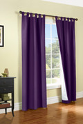 Weathermate Thermologic Tab Top Panel pair - Aubergine