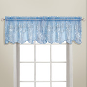 Bling Rod Pocket Valance - Blue