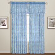 Bling Sequined Rod Pocket Curtains - Available in Pink, White, Blue