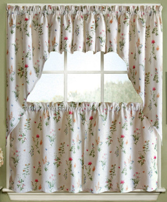 ... English Garden Kitchen Curtains ...
