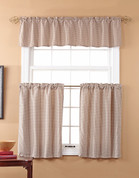 Fleetwood Kitchen Curtain - Spa