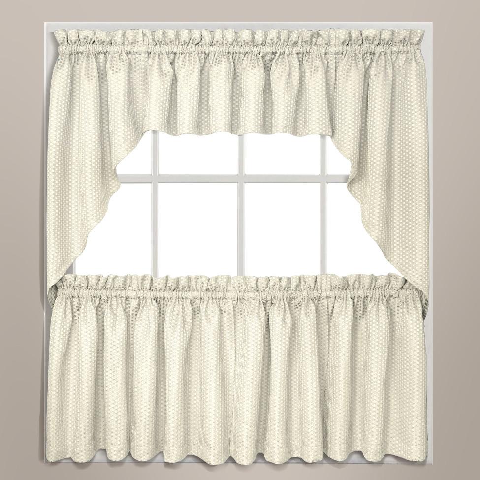 Hamden Honeycomb Kitchen Curtain