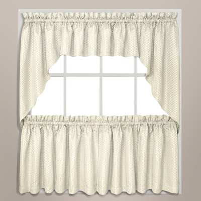 Hamden kitchen curtain ivory