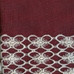 Salem Kitchen Curtain Burgundy