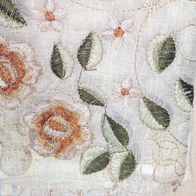 Rosemary Kitchen Curtain - Linen