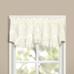 Vienna Eyelet Kitchen Curtain valance - Natural