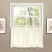 Vienna Eyelet Kitchen Curtain tier - Natural