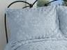 Rio Chenille Bedspread - Blue